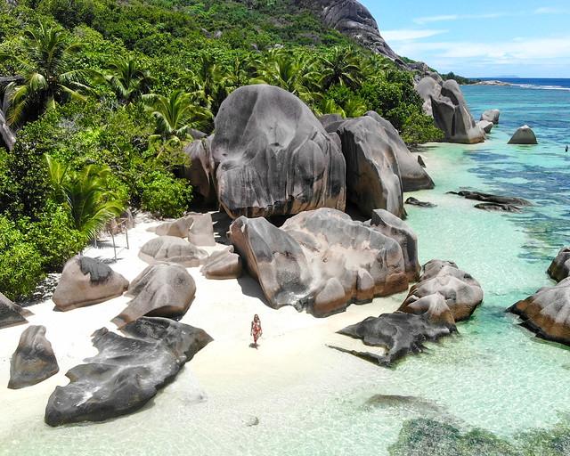 Playa de Anse Source d'Argent, Seychelles