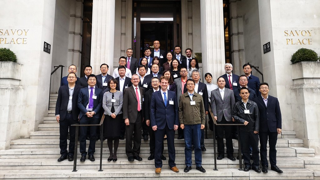 Delegates at the UK-China power market workshop
