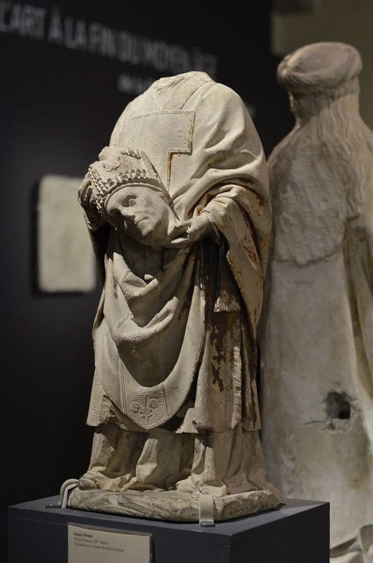 001 Св.Дионисий Скульптура XV в. Музей Клюни, Париж
