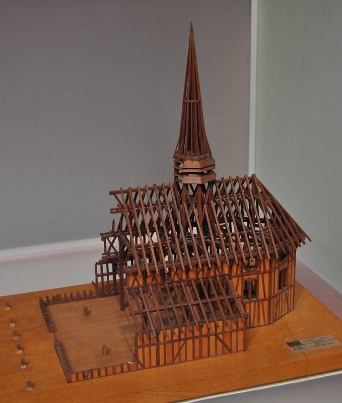 019а Деревянные конструкции готических построек