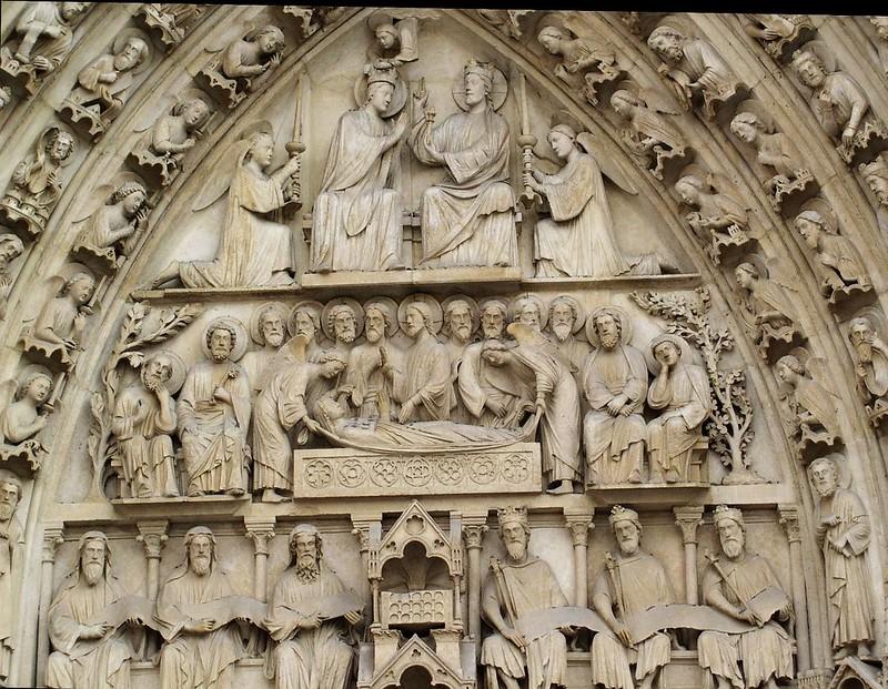 027 Тимпан портала Вознесения (Успения) Богородицы