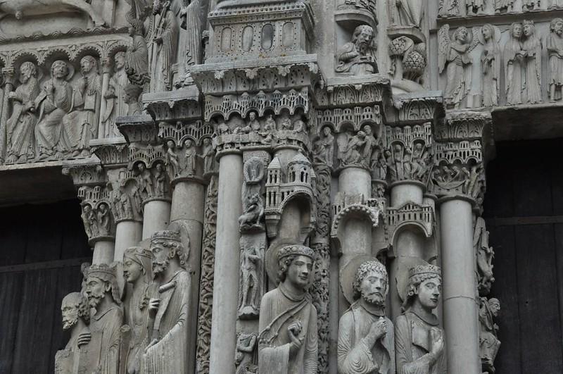 043 Скульптурное убранство западного фасада