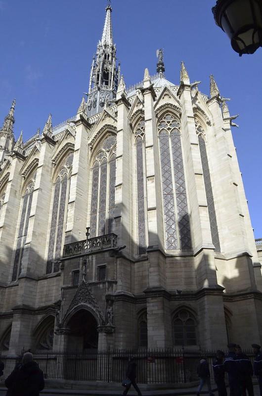 066 Королевская часовня для хранения Тернового венца и реликвий Страстей