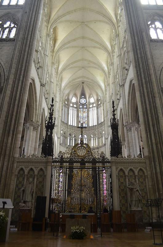 113 Хор Амьенского собора