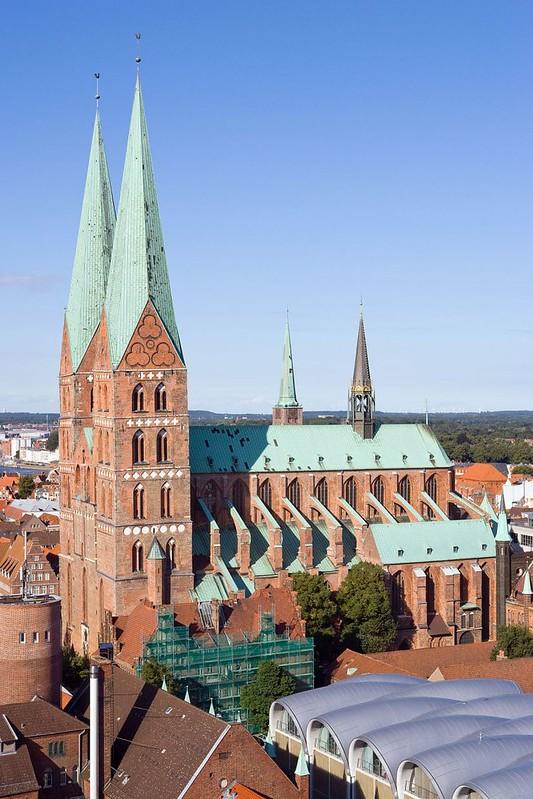 138 Церковь св Марии в Любеке 1250-1350
