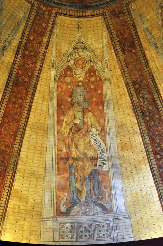 178 Пророк. Роспись купола собора Св.Стефана в Кагоре Первая пол XIV в