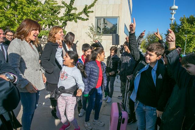 Presentación del proyecto Bibliobus y 'Maleta Violeta'