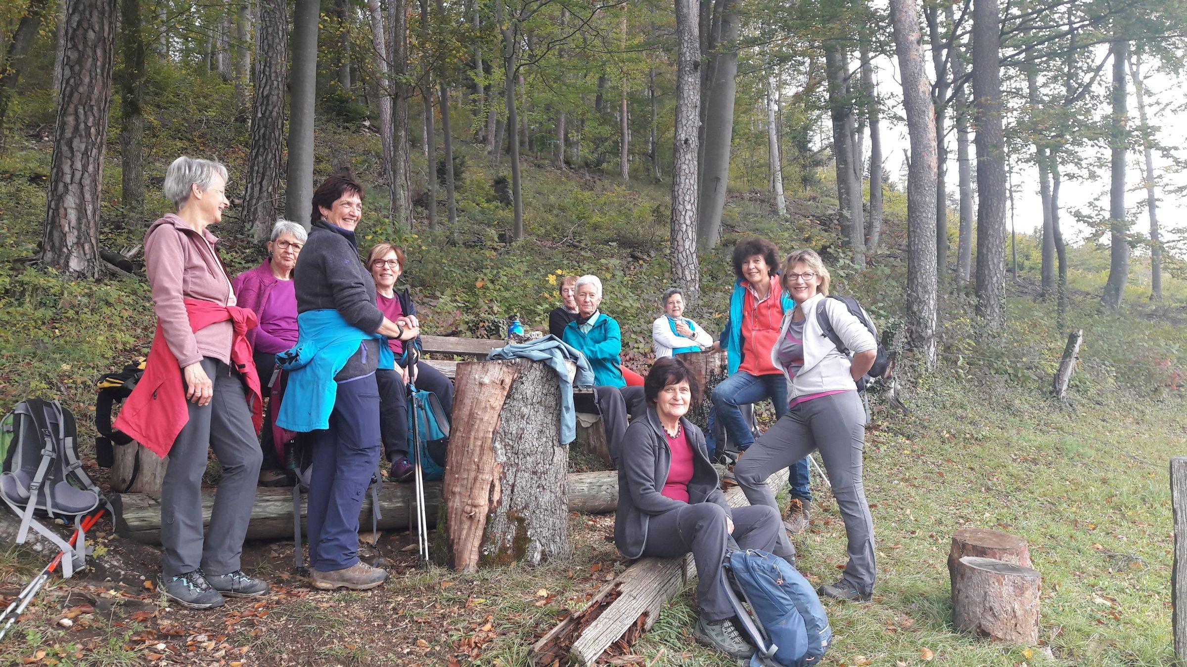 Frauenwanderung Bretzwil - Breitenbach 20.10.2019