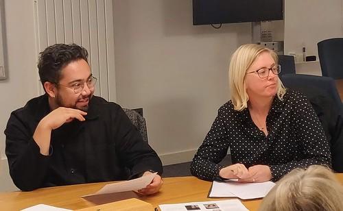 Joel Mauricio Isabel Ortiz and Hanna Löfgren