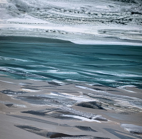 Wales, Whitesands Bay, greens, winter day