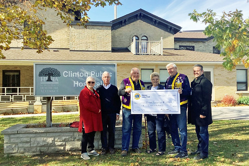 191023 Clinton Lions Radiothon Donation