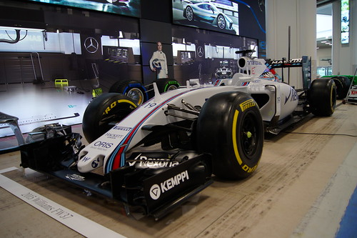 Williams FW37 F1 Car from 2015