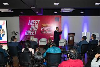 La USIL, promotora de la buena salud y la prevención, realizó el taller vivencial Meet and Greet de la carrera de Medicina Humana, dirigido a estudiantes de los últimos años de secundaria e interesados en esta profesión.