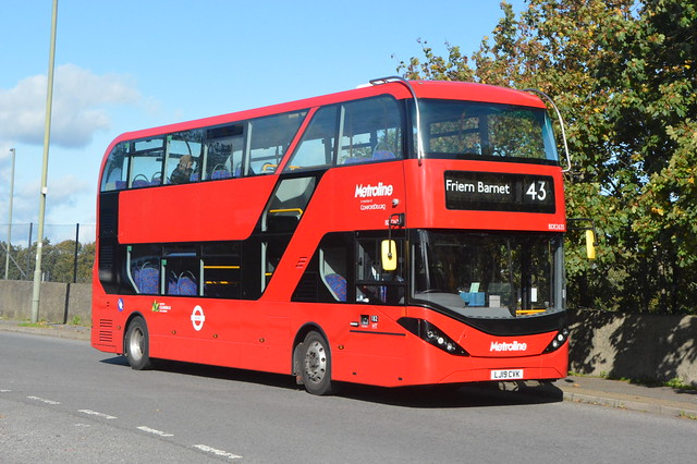 LJ19 CVK (BDE2635) Metroline London