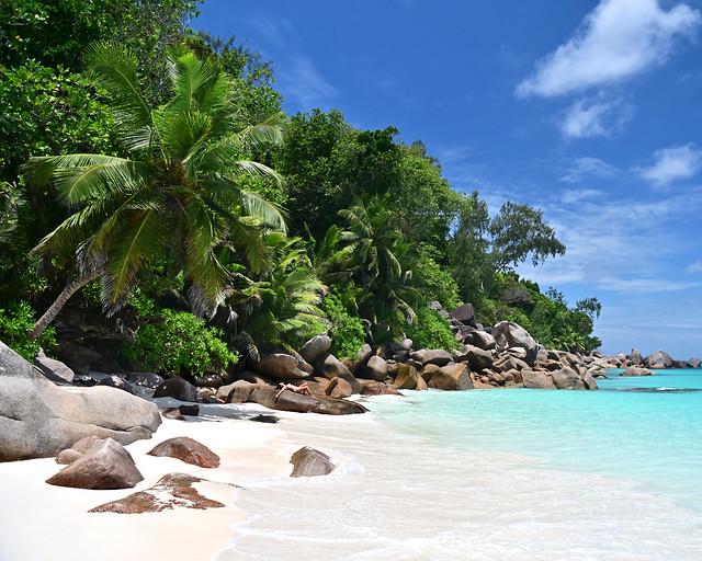 Anse Georgette en las islas Seychelles