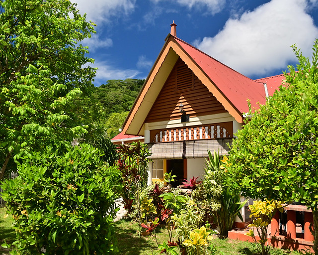 La casita donde dormir en La Digue, Seychelles