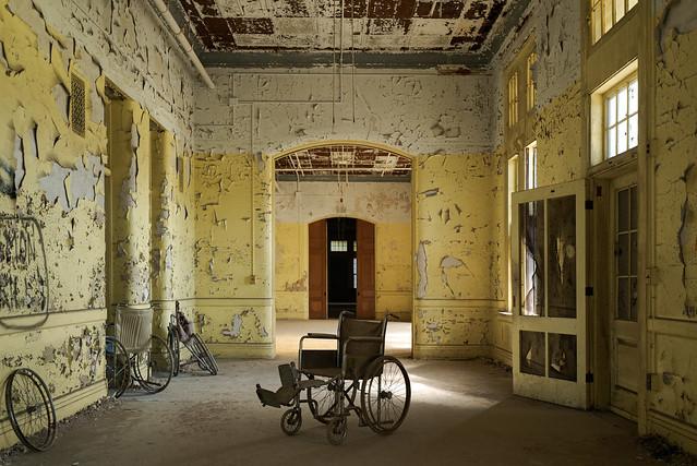Wheelchair Center Hallway