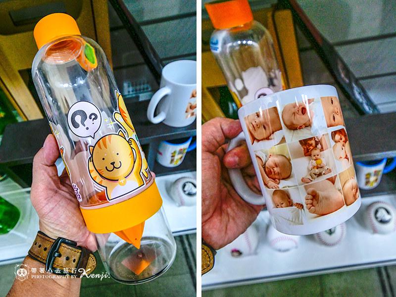 水瓶馬克杯材質也能進行印製-熱轉印推薦