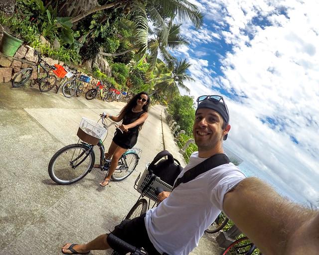 En bicicleta por Seychelles