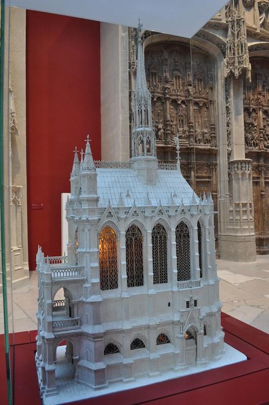 066а Макет Королевской капеллы в музее Монументального искусства Франции, Париж