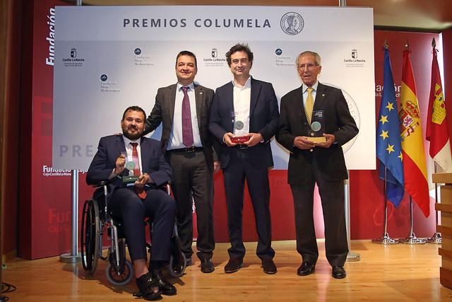Entrega de los II Premios Columela
