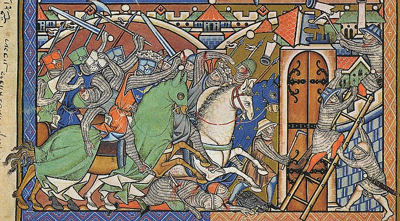 181 Библия Мациевского XIII в., создана по заказу короля Франции Людовика IX Святого
