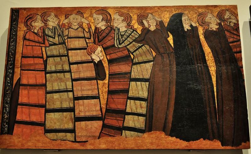 176 Гробница дона Санчо Сайз де Карилло. Плакальщицы, Бургос ок 1300