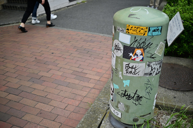 A scene in Yokohama Chinatown 2019/09 No.8.