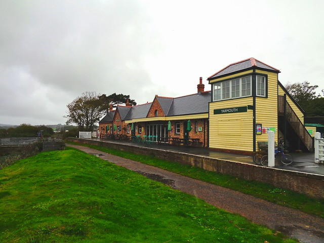 The former Yarmouth Station