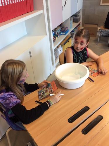 5de leerjaar - Halloween: een griezelig Hoekenwerk