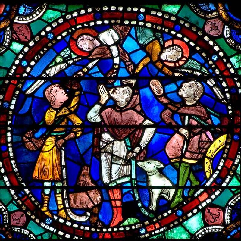 056a Явление ангелов пастухам
