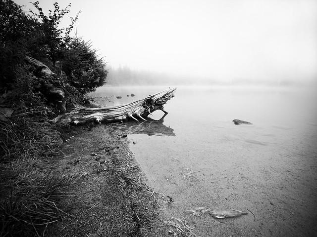 Au lac de Servière