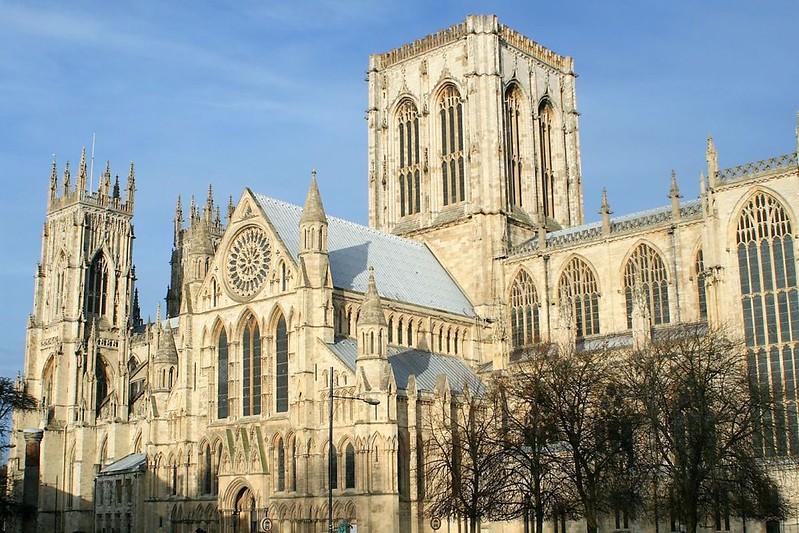 166 Собор в Йоркшире - York Minster 1220-1472 гг