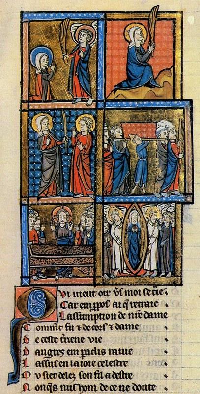 182 Жизнь и чудеса Богоматери рукопись конца XIII в. Суассон, Франция