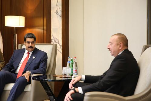 Presidente Nicolás Maduro: Reunión de Trabajo con el excelentísimo Ilham Aliyev, Presidente de la República de Azerbaiyán