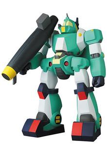 奔馳於荒野的綠色機甲!MEDICOM TOY《戰鬥裝甲Xabungle》戰鬥機械渥克凱利亞(ウォーカーギャリア)