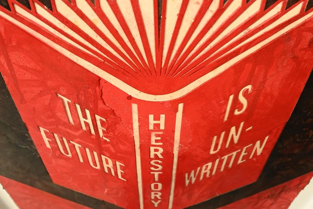 Shepard Fairey Herstory The Future Is Unwritten