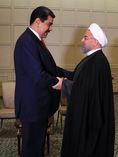 Presidente Maduro:Sostuve un importante encuentro con el hermano Presidente de la República Islámica de Irán, Hasán Rohaní