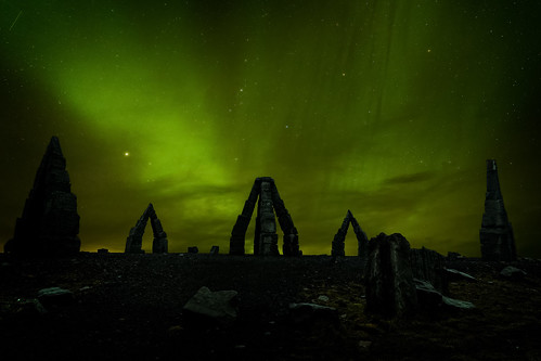 Heimskautsgerðið - Arctic Henge - Iceland