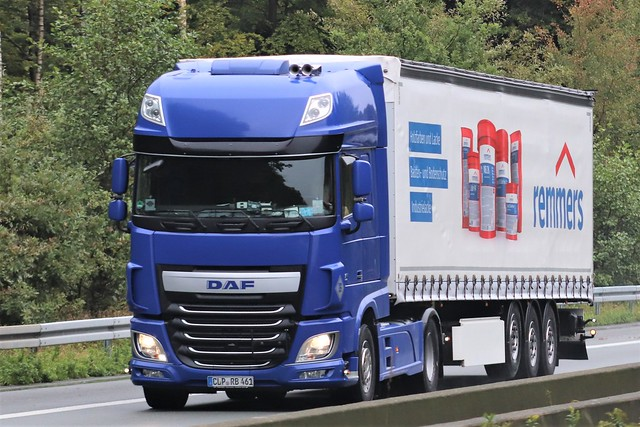 DAF XF116 superspacecab from Remmers Germany.