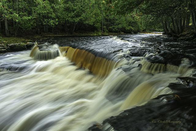 Whitefish Falls near Trenary Michigan