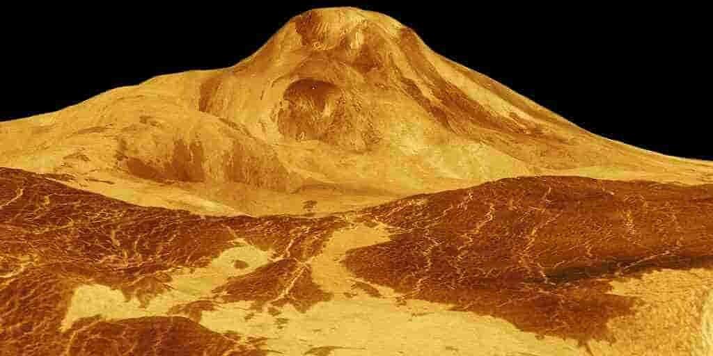 la-planète-vénus-a-des-plateaux-qui-scintillent