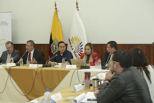 SESIÓN DE LA COMISIÓN DE RÉGIMEN ECONÓMICO. QUITO, 25 DE OCTUBRE 2019.