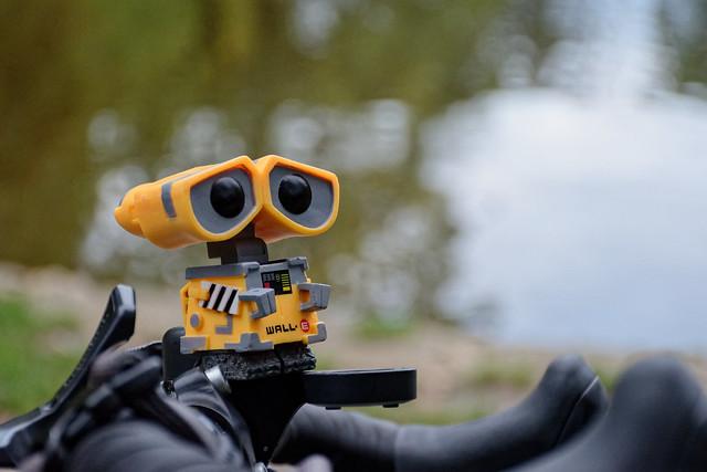 Wall-E prêt à rouler !