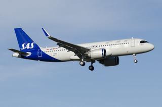 F-WWBC / SE-ROJ - Airbus A320-251 NEO - SAS Scandinavian Airlines - msn 9312