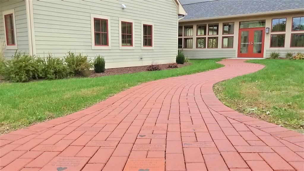 The Red Brick Memorial Walkway