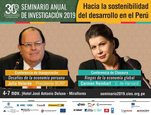 XXX Seminario Anual de Investigación CIES 2019