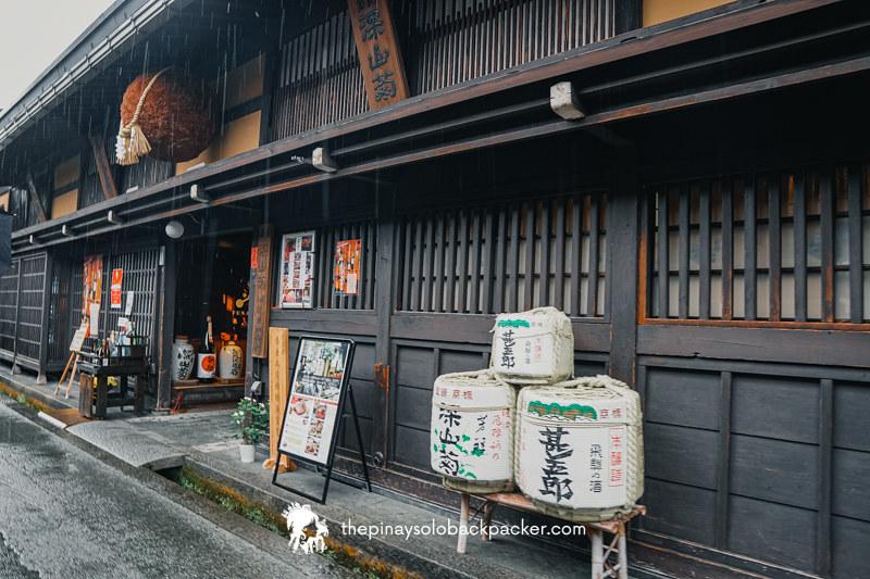 takayama sanmachi suji sake brewery