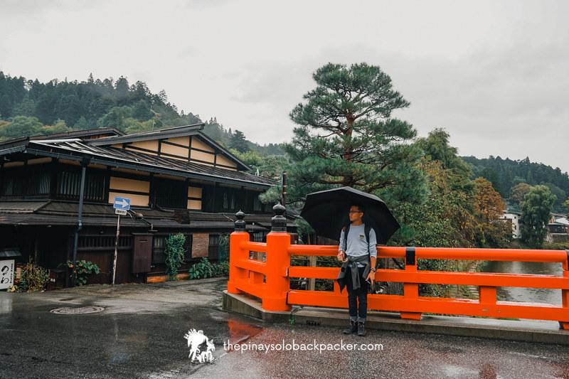 takayama tourist spot: takayama bridge