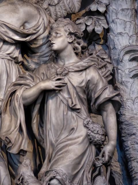 Thu, 09/10/2015 - 11:21 - Detail of Tobias by Giovanni Baratta - Santo Spirito, Florence 10/09/2015
